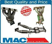 Ap Front And Rear Catalytic Converter For Volvo S80 3.2l 07-10 Front Wheel Drive