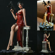 1/4 In Stock Resident Evil Miss Wong Ada Statue 19and039and039 Resin Figurine Collection