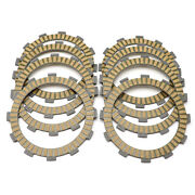 Clutch Fibre Friction Disc Kit Motorcycles Engine For Honda Cbr250r 2008-2017