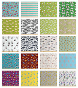 Ambesonne Soft Polyester Fabric By The Yard Upholstery Home Accents Decor