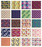 Ambesonne Indoor Outdoor Fabric By The Yard Decorative Upholstery Home Accents