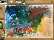Huge Modern Abstract Art Monet Style Original Abstract Artwork Floral Painting