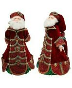 Collectible Advent Santa Doll From Katherine's Collection - 495