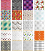 Ambesonne Fabric By The Yard Decorative Polyester Fabric For Home Accents