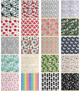 Fabric By The Yard Decorative Polyester Fabric For Home Accents Ambesonne