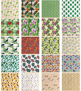 Ambesonne Fabric By The Yard Decorative Waterproof Fabric Home Accents