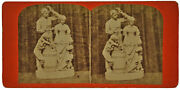 Taking The Oath - Civil War Rogers Group - Advertising Stereo Card