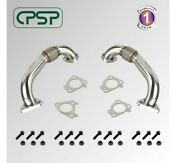 Cpsp 6.6l Duramax Heavy Duty Ugraded 304ss Up Pipes W/ Gaskets 01-16 Gmc Chevy