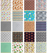 Fabric By The Yard Polyester Fabric For Home Accent Ambesonne
