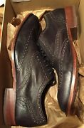 Cole Haan Air Colton Wing Tip Black Dress Shoes Size 11