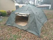Military 10and039x10and039 5 Man Crew Tent Hunting/camping