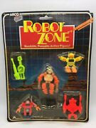 Vintage Arco Robot Zone Bendable Bendy Space Toy Robots Pack Moc Sealed 1985 3