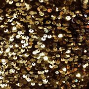 Gold Sequins Embroidered Stretch Velvet Rodeo Fabric - Sold By The Yard