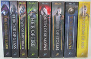 Throne Of Glass Novels By Sarah J. Maas Complete 8-book Series Set Paperback