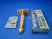 Gillette Antique New Gillette Safety Razor Early 1930's Made In U.s.a. Unused