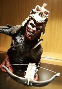 Evil Dead Army Of Darkness Evil Ash Resin Statue Bust Mint In Box