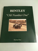 Rare Bentley Old Number 1 Blower Racing Vintage Motor Parts Barn Find Classic