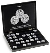 Canadian 20 For 20 Silver Coins Presentation Box Case Quality Storage Gift New