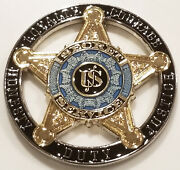United States Secret Service Usss Star Cutout Challenge Coin Non Nypd