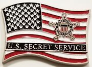 United States Secret Service American Flag Usss Challenge Coin Non Nypd