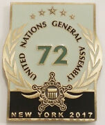 2017 United States Secret Service Unga 72 Usss Challenge Coin Non Nypd