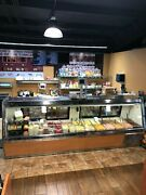 10ft Commercial Deli/meat Case Great Condition Preventive Maintenance See Photoandnbsp