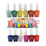 Opi Gelcolor Mexico City Spring 2020 Collection Full 12 Pcs No Display.