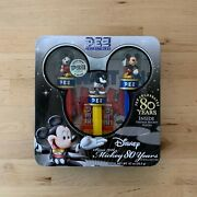 Disney Mickey Mouse 80 Years Pez Collectibles Dispensers