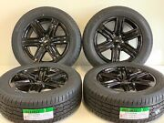 20 04-20 Ford F150 Expedition Factory Oem Wheels Tires Black Gloss New 6x135