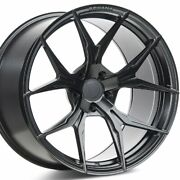 4 20 Staggered Rohana Rfx5 20x9 20x12 Black Concave Wheels Forged Rims A1