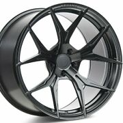 4 20 Staggered Rohana Rfx5 20x10 20x11 Black Concave Wheels Forged Rims A1