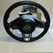 Steering Colmn Assembly With Steering Wheel And Airbag 2017 2018 Mazda 3 6023