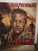 Original Numbered Paul Newman Cool Hand Luke Poster Large French Version