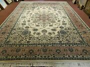 9and039 X 12and039 Vintage Fine Hand Made Pakistan Oriental Wool Rug Carpet Hand Knotted