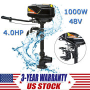 4hp Outboard Motor Boat Engine 1000w Output Boat Brushless Motor 4.0 Jet Pump Us