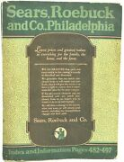 Catalog 144 For Sears Roebuck And Co Philadelphia 1932 With Wallpaper 289913