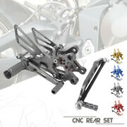 Cnc Alu Foot Rest Rearsets Pedal Pegs For Ducati Diavel 11-15 Carbon 11-16 Amg