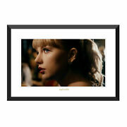 Taylor Swift Delicate Music Video Limited Edition 24x36 Lithograph 1058/2500