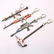 Game Fortnite Battle Royale Assault Weapon And Pickaxe Toy Keychain 4.7 - 5.5