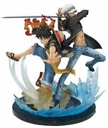 One Piece Luffy And Trafalgar Law 5th Anniversary Figure Figuarts Zero From Japan