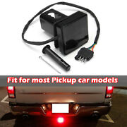 With 15 Led Brake Leds Light Tube Cover W/ Pin 2 Trailer Hitch Receiver Cover
