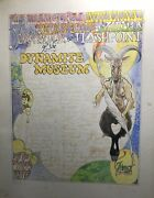 Michael K Frith First Retro Exhibit Expo Hand Done Original Cartoon Drawing 71