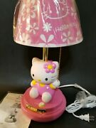 Hello Kitty Kt3095ap Table Lamp Pink Excellent Used Condition