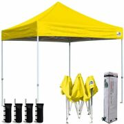 8x8 Ez Pop Up Canopy Instant Party Beach Tent Sports Camping Fair Shelter Gazebo