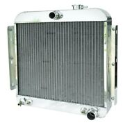 For Chevy Corvette 57 Afco Street Rod Performance Radiator W Dual Fan