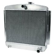For Chevy Corvette 53-54 Afco Street Rod Performance Radiator W Dual Fan