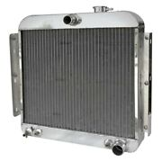 For Chevy Corvette 55-56 Afco Street Rod Performance Radiator W Dual Fan