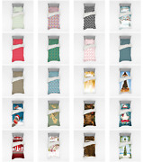 Ambesonne Christmas Bedding Set Duvet Cover Sham Fitted Sheet In 3 Sizes