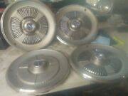 Vintage 1965 Ford Galaxie 15 Hub Caps Wheel Cover - Set Of 4 - Used