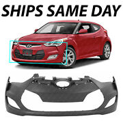 New Primered Front Bumper Cover Replacement For 2012-2017 Hyundai Veloster 12-17